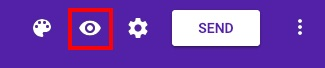 Google forms preview icon
